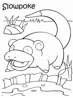 Målarbilder Pokemon 39