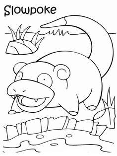 Disegni da colorare per bambini. Colorare e stampa Pokemon 39