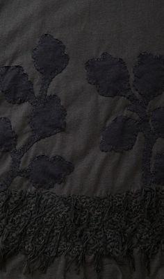 Alabama Chanin - #20658: New Leaves Alabama Fur A-Line Tunic