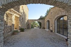 """""""5 bedroom farmhouse for sale in Gordes with wonderful views"""" in the Luberon, Provence. via Knight Frank"""