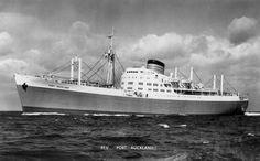 Port Line Vessels Photographs Merchant Navy, Auckland, Sailing, Ships, Memories, London, History, Classic, Places