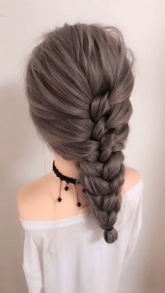 Bun Hairstyles For Long Hair, Braids For Short Hair, Summer Hairstyles, Braided Hairstyles, Everyday Hairstyles, Formal Hairstyles For Long Hair, Hairstyle Braid, Halloween Hairstyles, Braid Bangs