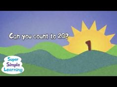 Here's a super simple counting song/chant. This is a fun march to start a class with. Have all of the children line up with tambourines and noise makers then. Pk Songs, Math Songs, Kindergarten Songs, Kids Songs, Counting Songs, Counting To 20, Counting Activities, Number Song, Teen Numbers