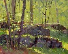 In The Shishkin Woods by Marc Hanson Oil ~ 8 x 10
