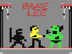 Klassiskt med Bruce Lee Commodore 64