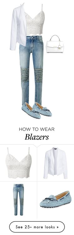 """""""Untitled #1220"""" by sylviabunny on Polyvore featuring mode, Brockenbow, MICHAEL Michael Kors, New Look, Michael Kors, women's clothing, women, female, woman et misses"""