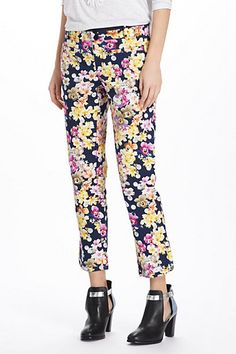 Miniflora Charlie Trousers #anthropologie  These really are great!  Very comfortable and look wonderful on!
