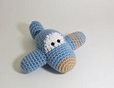 Amigurumi Rattle Free Pattern : Mini amigurumi airplane free crochet pattern free crochet