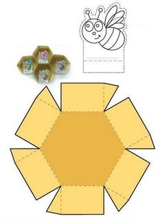 Tate & Fate - 52 Bee Crafts, Diy Crafts For Kids, Art For Kids, 1st Birthday Girl Decorations, 1st Birthday Girls, Bee Life Cycle, Fall Preschool Activities, Paper Art, Paper Crafts