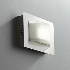 "Sivana 5 1/2"" High LED Satin Nickel Wall Sconce"