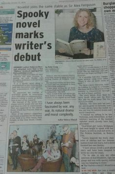 Book launch write-up in Grimsby Telegraph