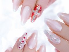 Perfect diamond nails 2015 for Wedding