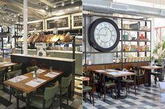 5 nuevos lugares con diseño para ir a comer  Cocina casera en un entorno con…
