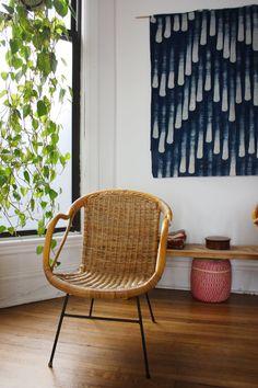 Hanging Around: DIY Ways to Use Fabric as Wall Art