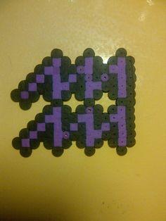 HS Aquarius Symbol Perler Bead by DarkLilly1991