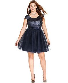 ed24ca5065ce Junior Plus Size Homecoming Dresses - Macy's Junior Dresses, Sequin Dress,  Gold Dress,