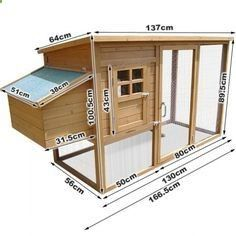 At the age of six weeks, chickens need something more to live in than a cardboard box. When you decide to breed baby chicks; you will need to have a nice coop for them. As a start, you could try one of these fancy DIY vintage coop plans. Walk In Chicken Coop, Chicken Barn, Easy Chicken Coop, Diy Chicken Coop Plans, Portable Chicken Coop, Chicken Coup, Backyard Chicken Coops, Building A Chicken Coop, Chicken Runs