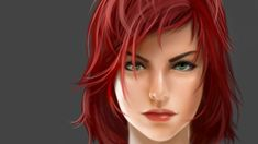 Female Commander Shepard Face by Aameeyur.deviantart.com on @deviantART