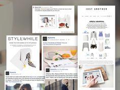 Stylewhile - Marketing: Email Marketing, Social Media (photographing, copywriting, image editing), PR