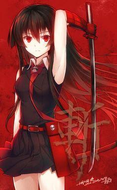 Akame Ga Kill, this anime and manga are amazing 5 Anime, Girls Anime, Chica Anime Manga, I Love Anime, Anime Shows, Anime Art, Female Anime, Akame Ga Kill, Manga Drawing