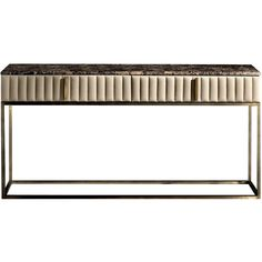 Daytona Angelina Console ($6,390) ❤ liked on Polyvore featuring home, furniture, storage & shelves, sideboards, brown, burl furniture, drawer furniture and brown's furniture