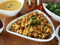 Kraft Stove Top Stuffing Copycat Recipe. I'm in the South. We call it dressing and we add sage and celery and onion cooked in butter. YUM!