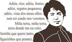 Rosalía de Castro; a dama das letras galegas Saint James, Pilgrimage, Words, Memes, Fictional Characters, Travel Europe, Tattoos, Camino De Santiago, Wooden Boat Building