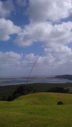 """Wind Wand""  makes sense to me!  http://www.matakanacountry.co.nz/home/home/ #Matakana #New Zealand #travel #art #sculptures"