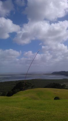 """Wind Wand""  makes sense to me!  http://www.matakanacountry.co.nz/home/home/ #Matakana #New Zealand #travel #art #sculptures"