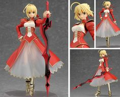 Best Action Figures, Action Toys, Fate Extra Saber, Fate/stay Night, Demi Human, Figure Poses, Fate Anime Series, Anime Figurines, Dynamic Poses