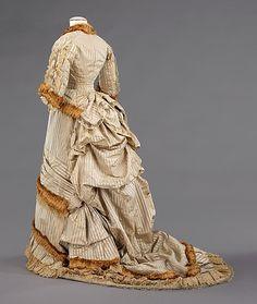 1878-80 Dinner dress