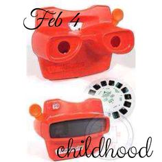 Feb 4, childhood... one of my favorite things from my childhood... a viewmaster... #fmsphotoaday