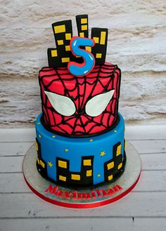 spidermancakespidermanbirthdaycakespidermancakedublin