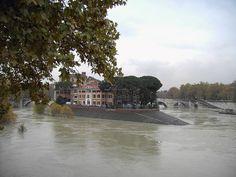 """Rio Tibre"". # Roma, Itália."