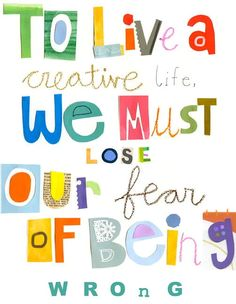 to live a creative life canvas art is part of Amazing inspirational quotes - To Live A Creative Life Canvas Art artQuotes Creative The Words, Cool Words, Art With Words, Quotable Quotes, Art Quotes, Motivational Quotes, Life Quotes, Art Sayings, Quotes About Art