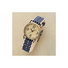 ATHENA WATCH - Watches - Jewelry   Robert Redford's Sundance Catalog via Polyvore