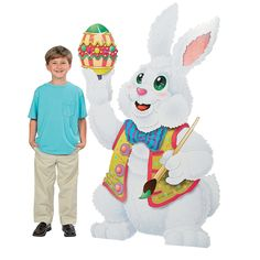 Easter Bunny Stand-Up - OrientalTrading.com