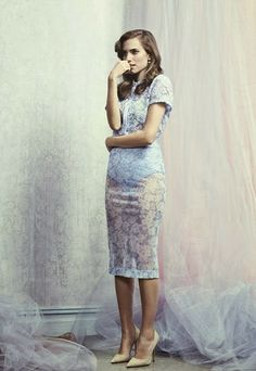 Celeb Diary: Allison Williams in InStyle UK (februarie 2014)