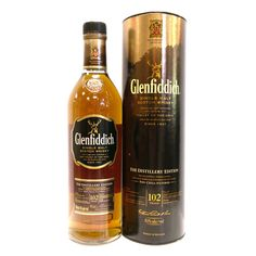 Glenfiddich 102 Proof 15 Year Old (Non Chill-Filtered) Liquid Gold, Scotch Whisky, Distillery, Whiskey Bottle, Ale, Filters, Chill, Champagne, Spirit
