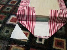 How to build a simple, scrap wood upholstered footstool Reupholster Furniture, Furniture Making, Upholstered Footstool, Wood Putty, Pink Toes, Diy Cushion, Quilt Batting, My Sewing Room, Bench Cushions