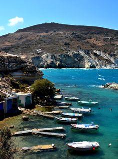 Milos Island, Greece www.milandsuites.com