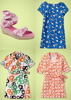 I know two little girls with wrap dresses in their near future.  DVF for GapKIDS.  I DIE.