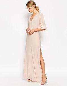 ASOS // blush pink maxi dress
