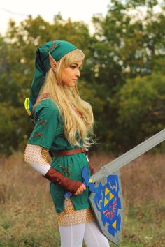 Female Link cosplay by rhaenyra