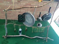 """Bibra Lake Sapphires' large recycled musical instrument - shared by Treasured Tots Child Care ("""",)"""