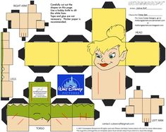 Dis10: Tinker Bell Cubee by TheFlyingDachshund.deviantart.com on @deviantART