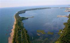 A 12-Mile Easy Island Loop along Erie Peninsula Drive – Erie, Pennsylvania http://esr.cc/183iAeg