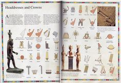 Ancient Egypt - Headdresses and Crowns