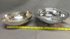 Vintage Kromex Serving Bowl and Poole Silverplate Co Vegetable Bowl 811 | eBay