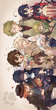 Fanarts Anime, Anime Chibi, Anime Characters, Manga Anime, Anime Art, Bungou Stray Dogs Wallpaper, Dog Wallpaper, Cute Anime Wallpaper, Demon Manga
